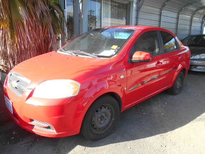 2008 Chevrolet Aveo For Sale At CALIFORNIA AUTOMART In Gilroy CA