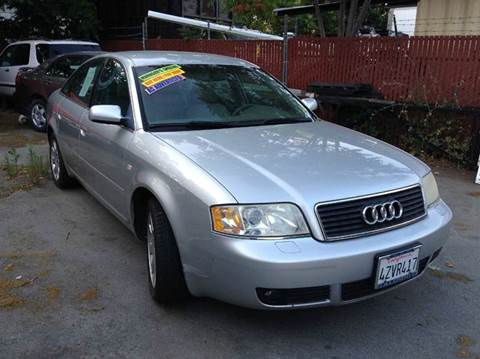 2003 Audi A6 for sale at CALIFORNIA AUTOMART in San Jose CA