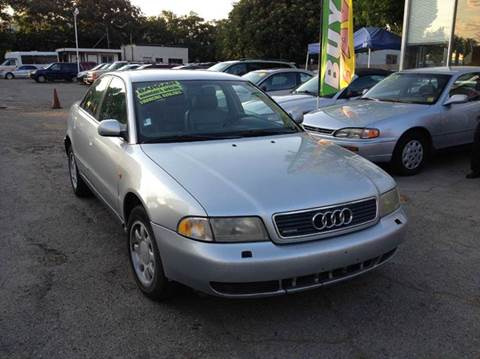 1998 Audi A4 for sale at CALIFORNIA AUTOMART in San Jose CA