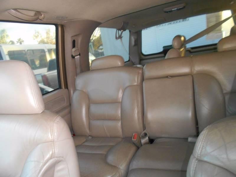1999 Chevrolet Suburban for sale at CALIFORNIA AUTOMART in San Jose CA