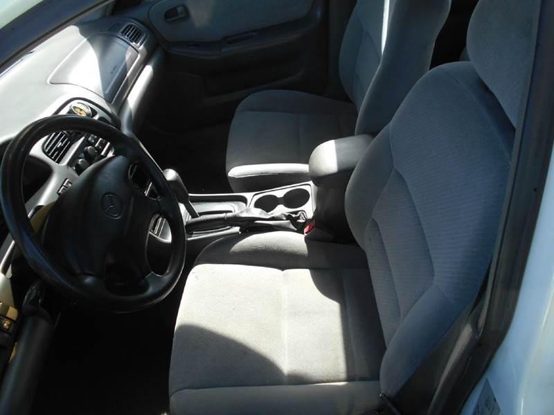 1999 Mazda 626 for sale at CALIFORNIA AUTOMART in San Jose CA