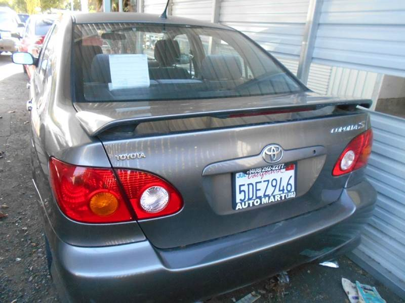 2003 Toyota Corolla for sale at CALIFORNIA AUTOMART in San Jose CA