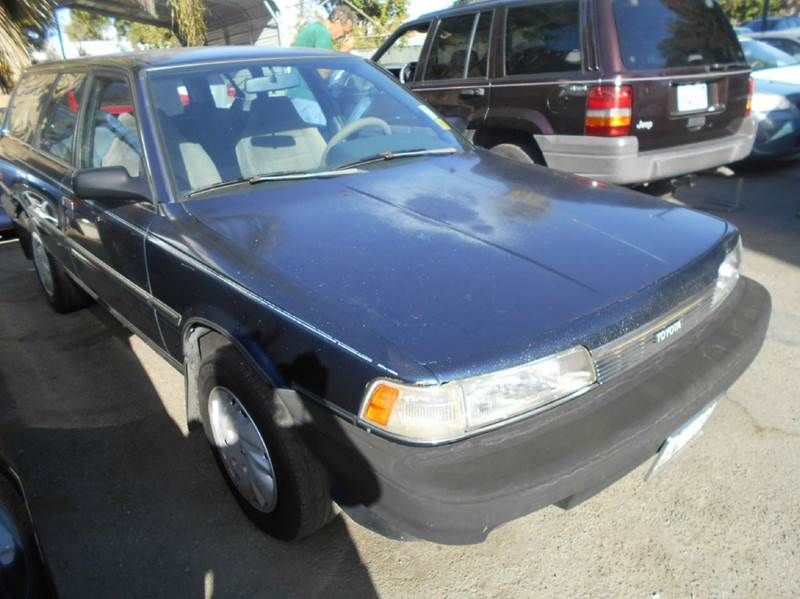 1989 Toyota Camry for sale at CALIFORNIA AUTOMART in San Jose CA