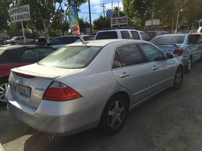 2006 Honda Accord for sale at CALIFORNIA AUTOMART in San Jose CA