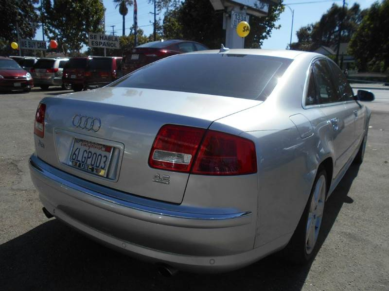 2007 Audi A8 for sale at CALIFORNIA AUTOMART in San Jose CA