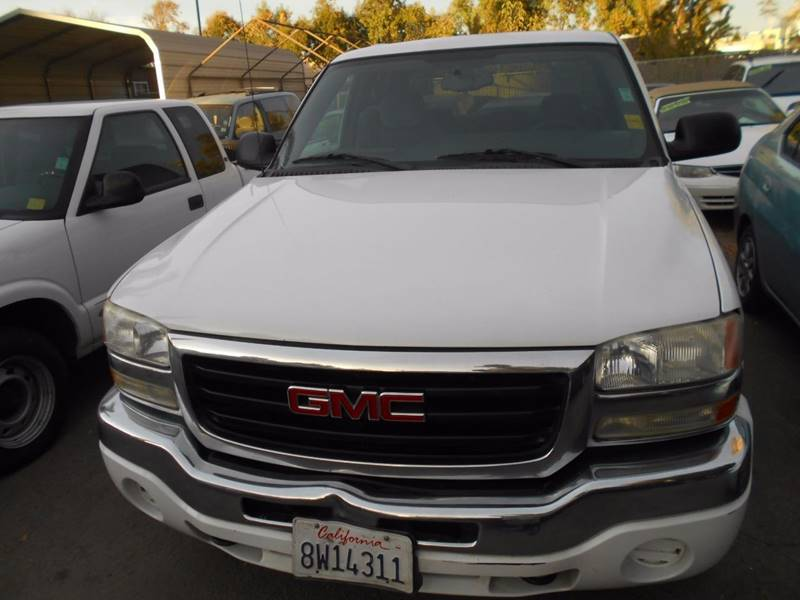2007 GMC Sierra 1500 Classic for sale at CALIFORNIA AUTOMART in San Jose CA