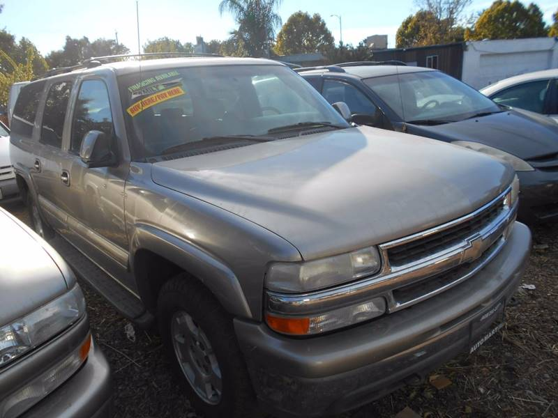 2001 Chevrolet Suburban for sale at CALIFORNIA AUTOMART in San Jose CA