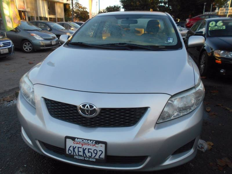 2010 Toyota Corolla for sale at CALIFORNIA AUTOMART in San Jose CA