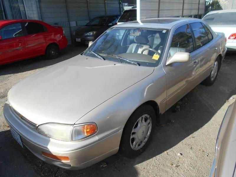 Superb 1996 Toyota Camry For Sale At CALIFORNIA AUTOMART In Gilroy CA