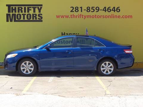 2011 toyota camry for sale in houston tx