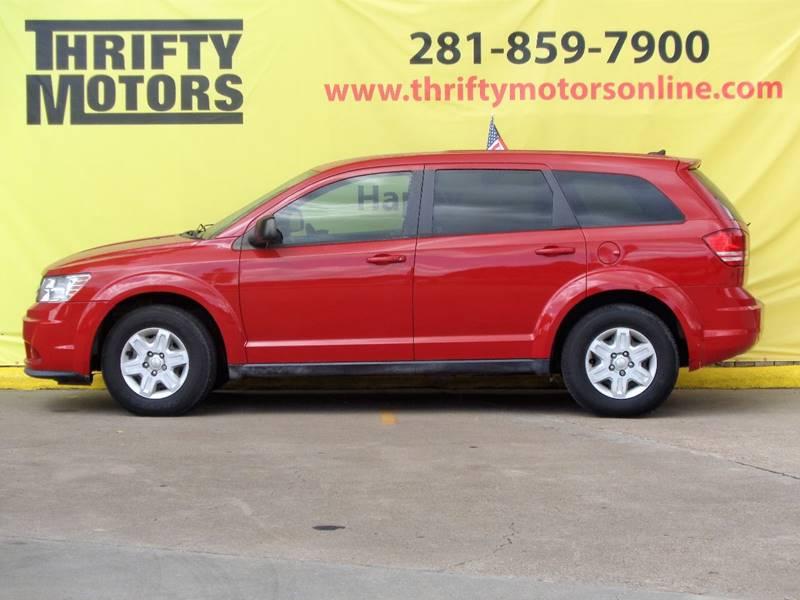 2012 Dodge Journey SE 4dr SUV In Houston TX  Thrifty Motors Inc