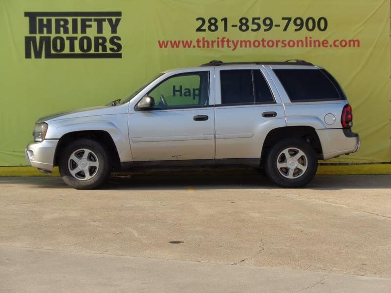 2006 chevrolet trailblazer lt 4dr suv in houston tx