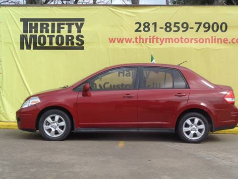 2010 nissan versa for sale in texas for Thrifty motors houston tx 77084