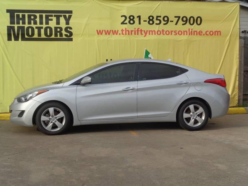 Great 2013 Hyundai Elantra Limited 4dr Sedan   Houston TX