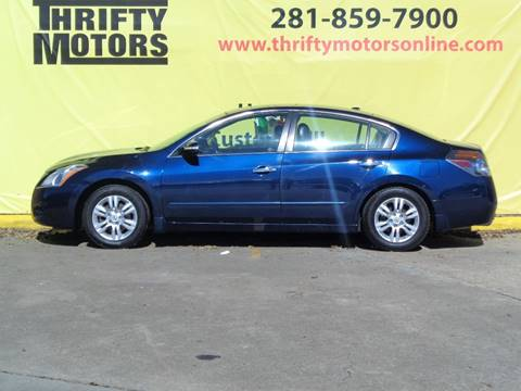 2010 nissan altima for sale in houston tx for Thrifty motors houston tx 77084