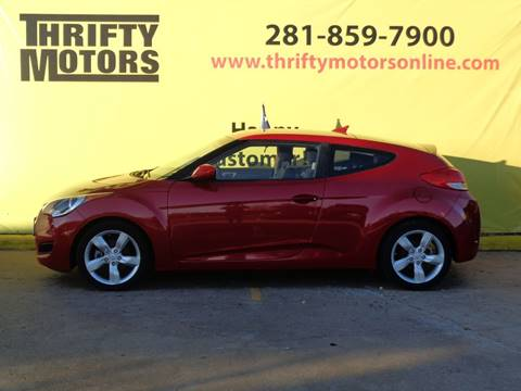 Hyundai veloster for sale in houston tx for Thrifty motors houston tx 77084