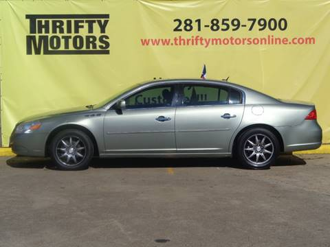 Buick lucerne for sale in houston tx for Thrifty motors houston tx 77084