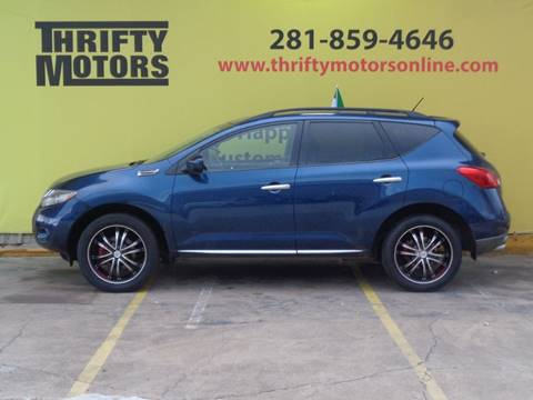 2009 nissan murano for sale in houston tx for Thrifty motors houston tx 77084