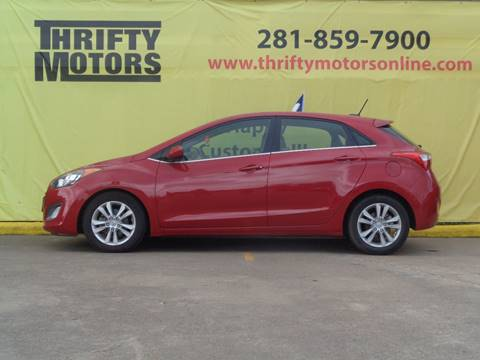 Used 2014 hyundai elantra for sale in houston tx for Thrifty motors houston tx 77084