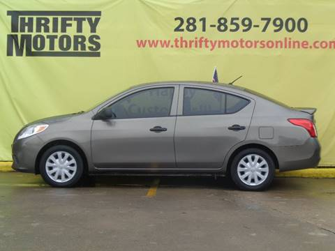 2014 nissan versa for sale in houston tx for Thrifty motors houston tx 77084