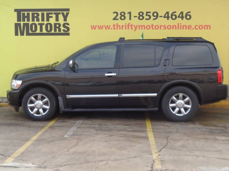 2004 Infiniti Qx56 In Houston Tx Thrifty Motors Inc