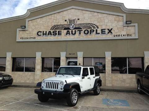 2015 Jeep Wrangler Unlimited for sale in Lancaster, TX