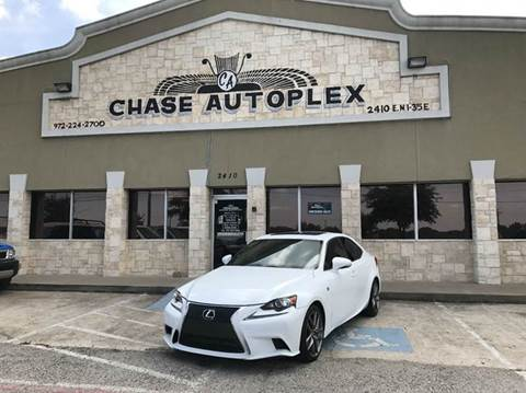 2015 Lexus IS 350 for sale in Lancaster, TX