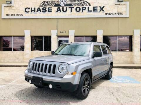 2016 Jeep Patriot for sale at CHASE AUTOPLEX in Lancaster TX
