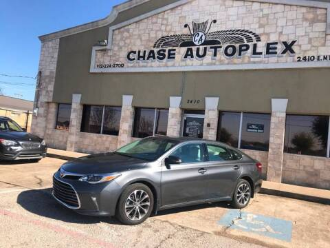 2016 Toyota Avalon for sale at CHASE AUTOPLEX in Lancaster TX