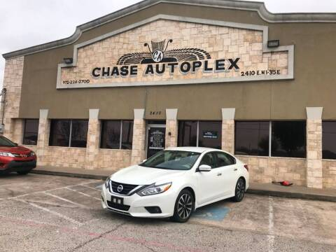 2016 Nissan Altima for sale at CHASE AUTOPLEX in Lancaster TX
