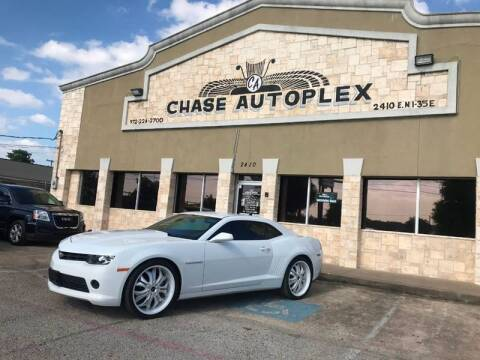 2014 Chevrolet Camaro for sale at CHASE AUTOPLEX in Lancaster TX