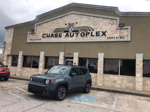 2018 Jeep Renegade for sale at CHASE AUTOPLEX in Lancaster TX