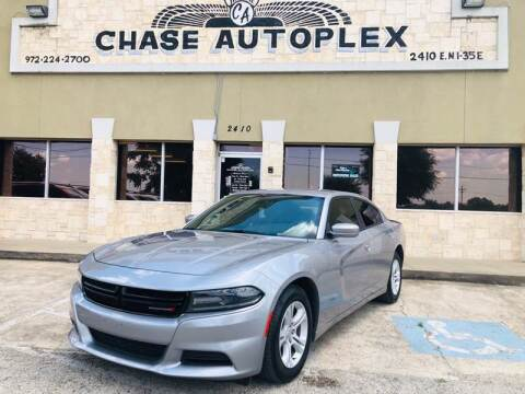 2018 Dodge Charger SXT for sale at CHASE AUTOPLEX in Lancaster TX
