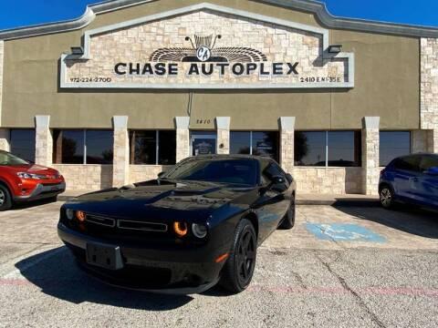 2018 Dodge Challenger SXT for sale at CHASE AUTOPLEX in Lancaster TX
