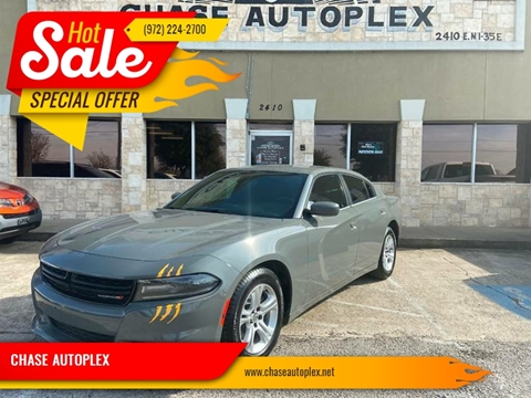 2019 Dodge Charger SXT for sale at CHASE AUTOPLEX in Lancaster TX