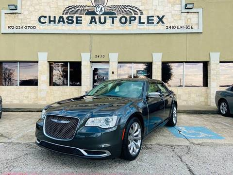 2018 Chrysler 300 Touring for sale at CHASE AUTOPLEX in Lancaster TX