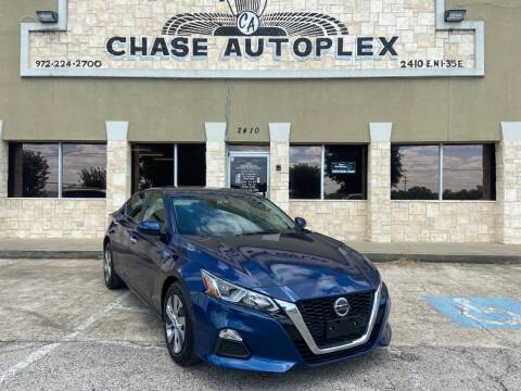 2019 Nissan Altima for sale at CHASE AUTOPLEX in Lancaster TX