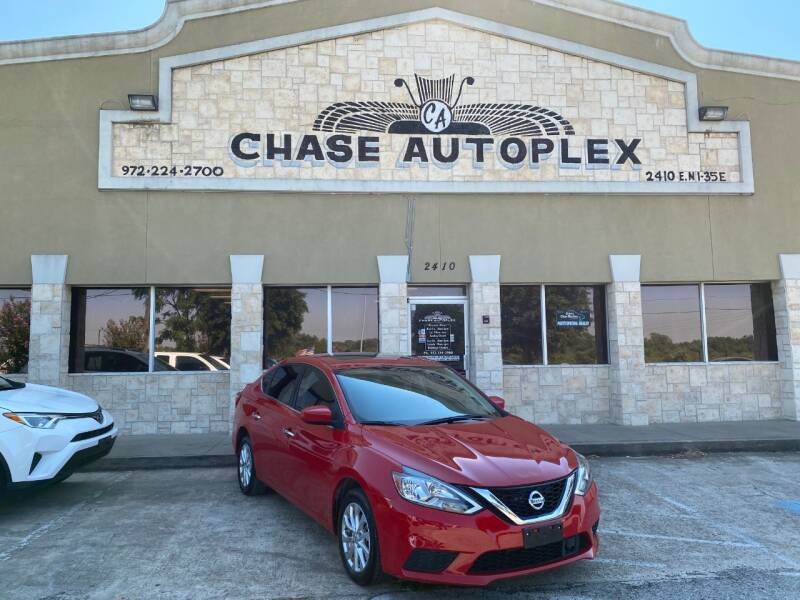 2018 Nissan Sentra for sale at CHASE AUTOPLEX in Lancaster TX