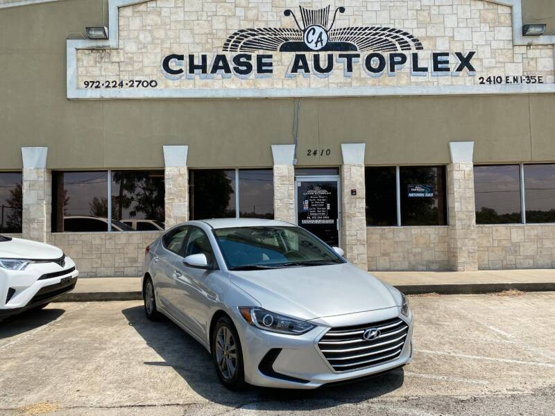 2017 Hyundai Elantra for sale at CHASE AUTOPLEX in Lancaster TX
