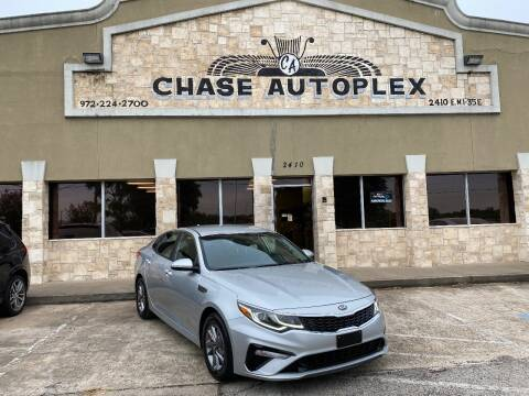 2019 Kia Optima for sale at CHASE AUTOPLEX in Lancaster TX