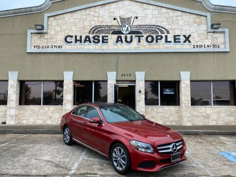 2016 Mercedes-Benz C-Class for sale at CHASE AUTOPLEX in Lancaster TX