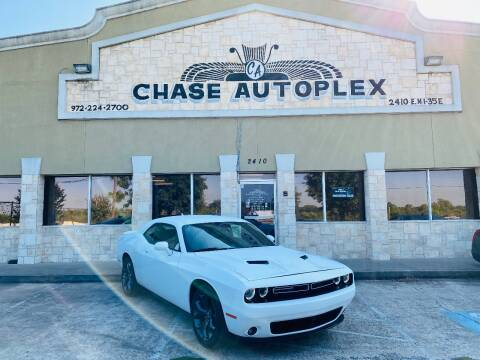 2019 Dodge Challenger for sale at CHASE AUTOPLEX in Lancaster TX
