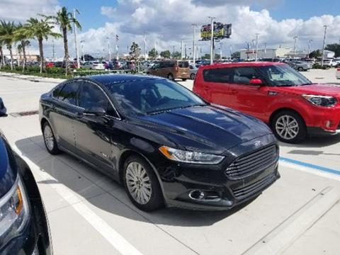 2013 Ford Fusion Hybrid for sale in Kissimmee, FL