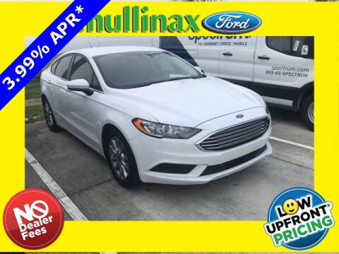 2017 Ford Fusion SE for sale at Mullinax Ford of Kissimmee in Kissimmee FL