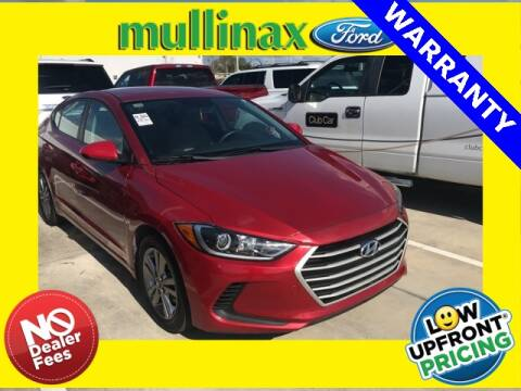 2017 Hyundai Elantra for sale at Mullinax Ford of Kissimmee in Kissimmee FL