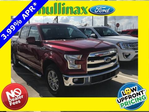 2017 Ford F-150 Lariat for sale at Mullinax Ford of Kissimmee in Kissimmee FL