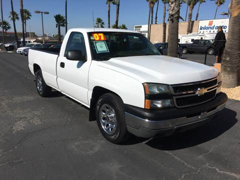 2007 Chevrolet Silverado 1500 Classic for sale at Inland Auto Exchange in Norco CA