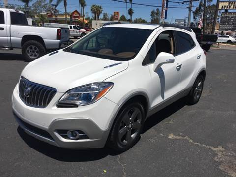 2014 Buick Encore for sale at Inland Auto Exchange in Norco CA