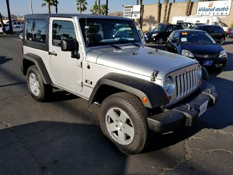 2007 Jeep Wrangler for sale at Inland Auto Exchange in Norco CA