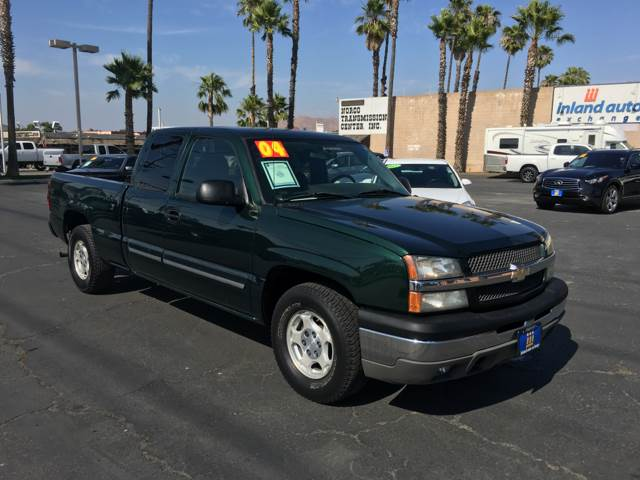 2004 Chevrolet Silverado 1500 for sale at Inland Auto Exchange in Norco CA
